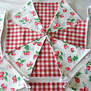Strawberries - Red Gingham