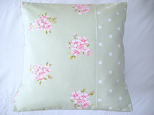 Tilly Floral & Dots Cushion Cover - cushions