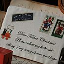 Father Christmas Envelope