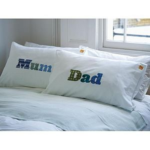 Mum and Dad Pillowcase Set - inspired by family