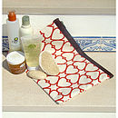 Multipurpose Canvas Wash / Bikini Pouches