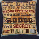 Rodeo Cushion