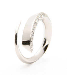 Platinum Diamond Ring - fine jewellery