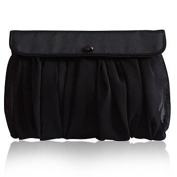 Scout black clutch