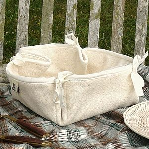 Cotton Bread Basket - anniversary gifts