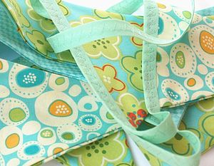 Cotton bunting 'Sea Breeze' - children's decorative accessories