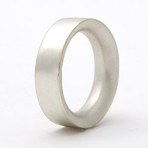 Medium Sterling Silver Ring - rings