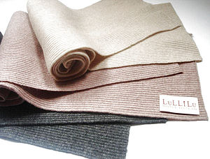 Cashmere,Wool Ali Scarf - children's accessories