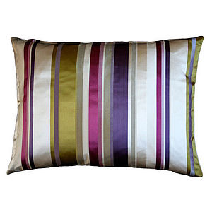 Silk Stripe Cushion