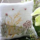 seeds lavender cushion
