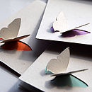 Simple 3D Butterfly Card