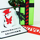 Personalised Frosty The Snowman Pop Up Card