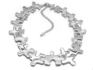 Jigsaw Necklet - necklaces & pendants