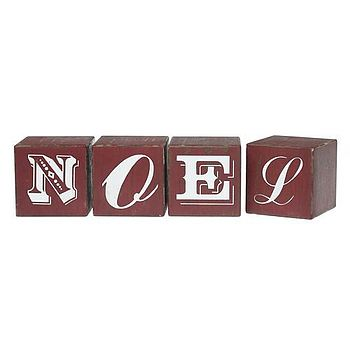 NOEL Wooden Blocks