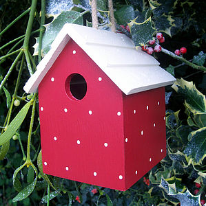 Handmade Bird House - birds & wildlife