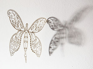 Butterfly Laser Cut Mobile Decorations - home sale