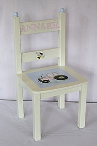 Personalised Hand Painted Chair - chairs