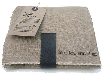Leaf tea travel kit