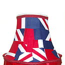 Bespoke Lampshades: Abstract Union Jack