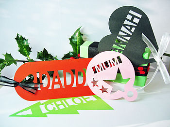 Giant Personalised Gift Tag Bookmark