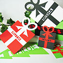 Giant Parcel Cut Out Gift Tag Bookmark