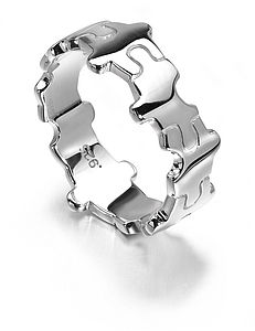 Jigsaw Ring - rings