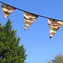 Boys Camouflage Bunting