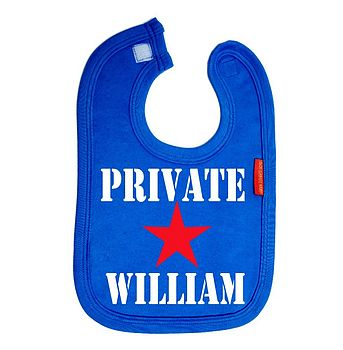 Personalised 'Private' Bib