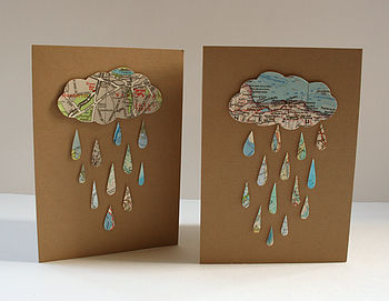 Raindrops Card