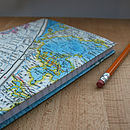 Vintage World Map Journal