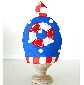 Nautical Egg Cosy