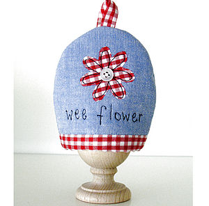 'Wee Flower' Egg Cosy - tableware