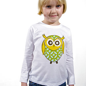 'Twit Twoo' Long Sleeve T-Shirt - gifts for children