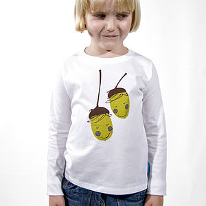 'Acorn Boys' Long Sleeve T-Shirt - clothing