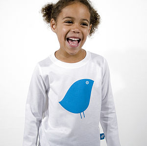'Little Bird' Long Sleeve T-Shirt - clothing