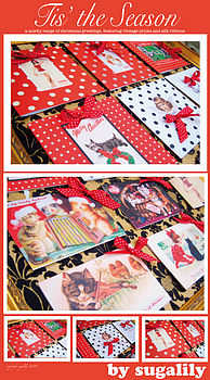 Tis the season: Santa Baby Christmas Range Of Cards