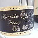 Set Of Two Personalised Bottle Labels
