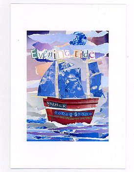 'Evening Tide' Greetings Card