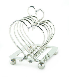 Heart Toast Rack