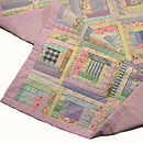 Handmade patchwork quilt for cots