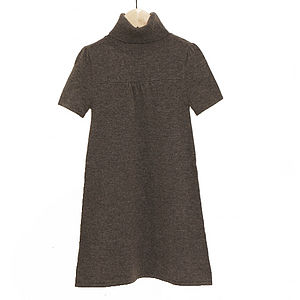 Cashmere And Wool Girls' Audrey Dress - view all sale items