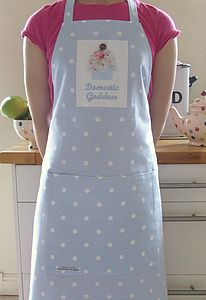 Personalised Spotty Apron - aprons