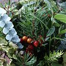 festive bouquet close up 2