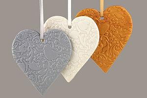 Keepsake Heart Decoration