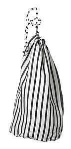 Autumn Stripe Laundry Bag - bathroom