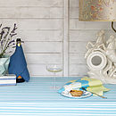 Palermo Stripe Tablecloth