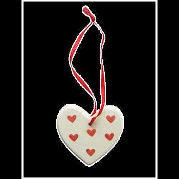 Ceramic Valentine's heart