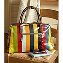Sandstripe Overnight Bag