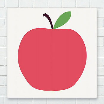 Red Apple Canvas: Ex Display