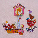 'Birdhouse Joy' Card